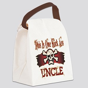 Kickass Uncle copy Canvas Lunch Bag