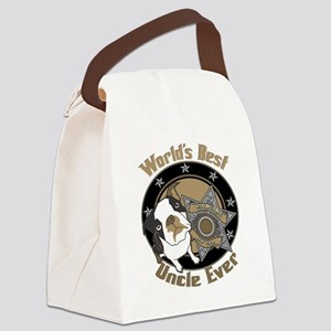 TopDogWorldsBestUncle copy Canvas Lunch Bag