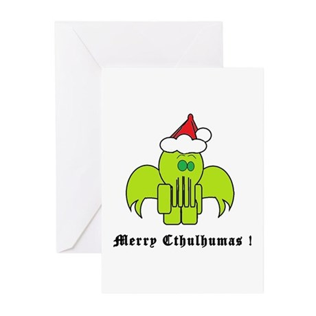 Merry Cthulhumas! Greeting Cards (Pk of 20)