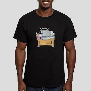 Abby Loves Bert Men's Fitted T-Shirt (dark)