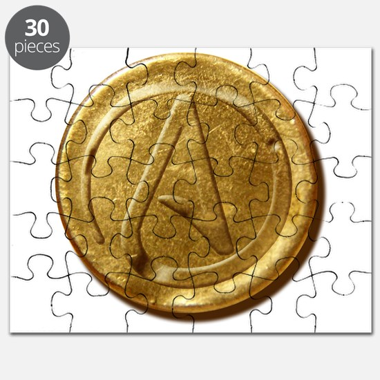 Atheist Gold Coin Puzzle