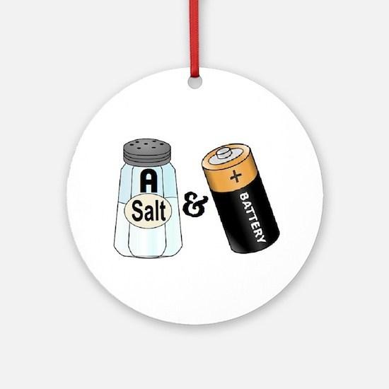 salt n battery Ornament (Round)