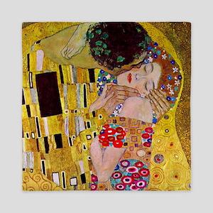 Gustav Klimt The Kiss Queen Duvet