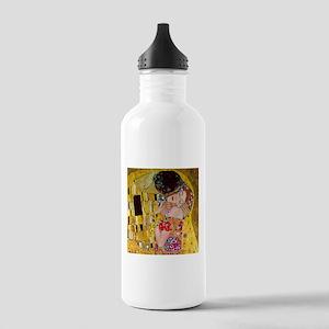 Gustav Klimt The Kiss Stainless Water Bottle 1.0L