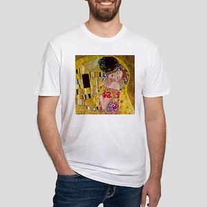 Gustav Klimt The Kiss Fitted T-Shirt