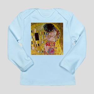 Gustav Klimt The Kiss Long Sleeve Infant T-Shirt
