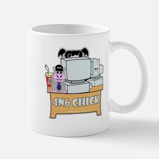 Forensics Chick Mug