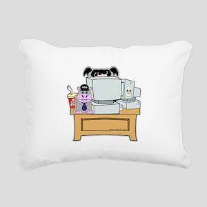 Abby and Bert NCIS Rectangular Canvas Pillow