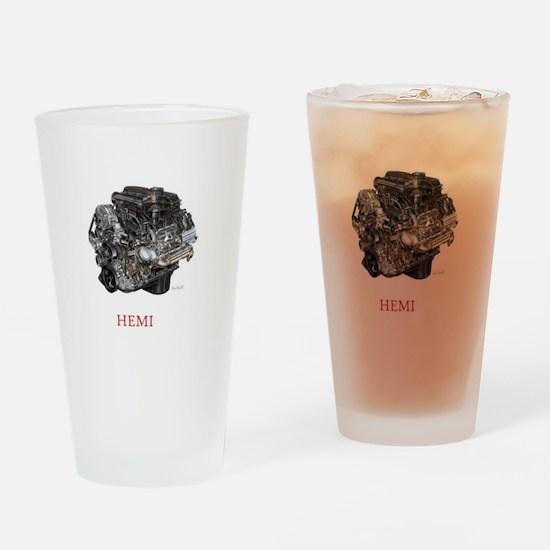 Hemi Drinking Glass