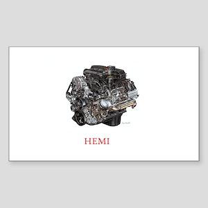 Hemi Sticker (Rectangle)