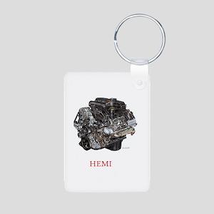 Hemi Aluminum Photo Keychain
