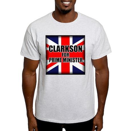Clarkson for Prime Minister Light T-Shirt
