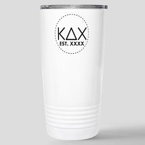 Kappa Delta Chi C 16 oz Stainless Steel Travel Mug
