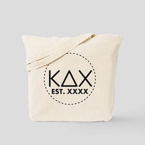 Kappa Delta Chi Circle Tote Bag