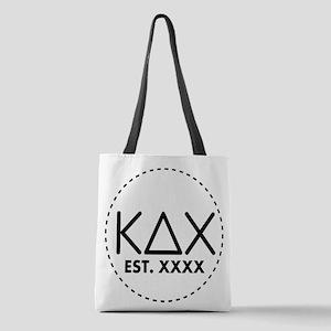 Kappa Delta Chi Circle Polyester Tote Bag