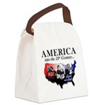 21st Century America Canvas Lunch Bag