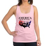 21st Century America Racerback Tank Top