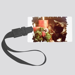 kitten3 Large Luggage Tag