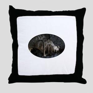 Phantom of the Cave Revealed Throw Pillow