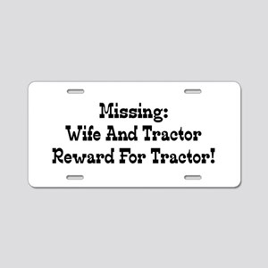 Missing Wife And Tractor Reward For Tractor Alumin