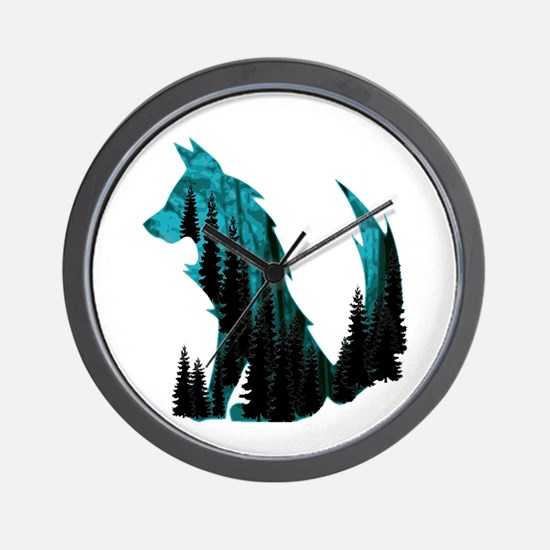 THE FOREST WITHIN Wall Clock