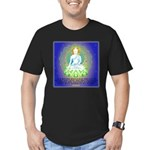 Buddha, Limitless Compassion Design Men's Fitted T