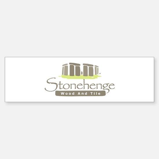 Stonehenge Wood and Tile Sticker (Bumper 10 pk)