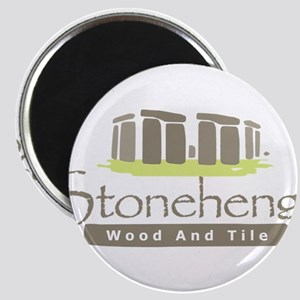 "Stonehenge Wood and Tile 2.25"" Magnet (100 pack)"