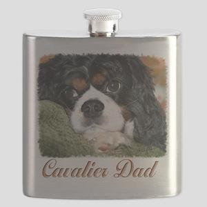 Cavalier Dad Flask