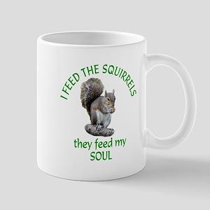 Squirrel Feeder Mug