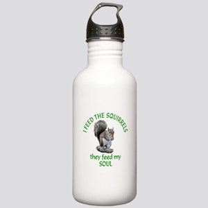 Squirrel Feeder Stainless Water Bottle 1.0L