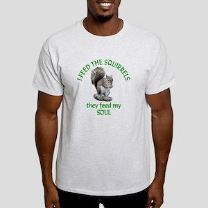 Squirrel Feeder Light T-Shirt