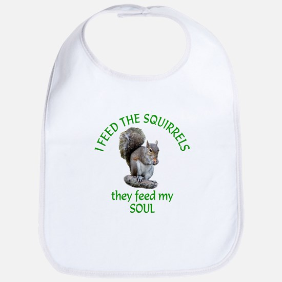 Squirrel Feeder Bib