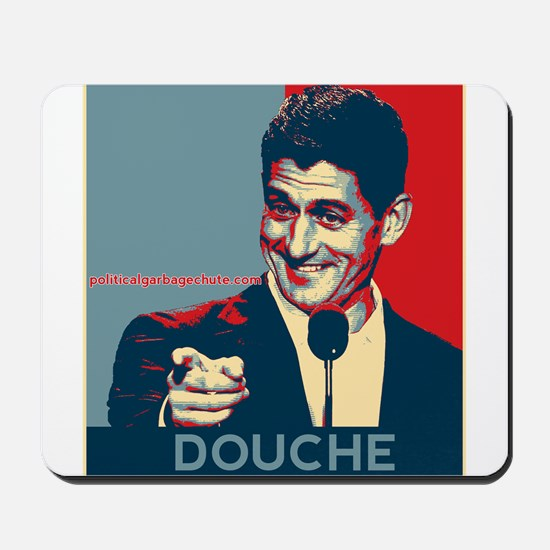 "Paul Ryan - ""Douche"" Mousepad"