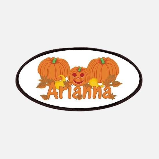 Halloween Pumpkin Arianna Patches
