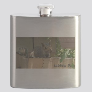 Dirty Little Squirrel Flask