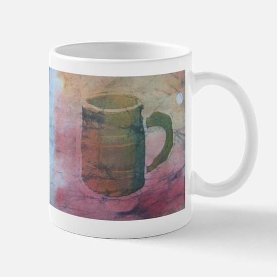 Batik Brown Coffee Cup Mug