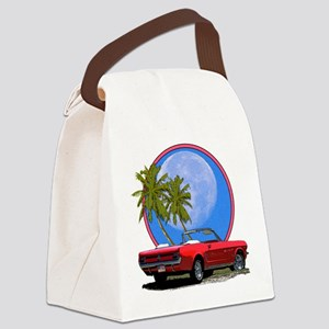 ford conv palms Canvas Lunch Bag
