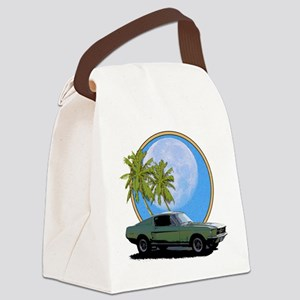 67 Mustang Canvas Lunch Bag