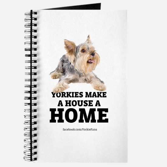 Home with Yorkies Journal
