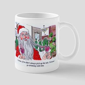 Santa Xmas Wine Lovers' Mug