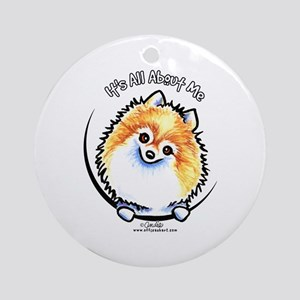 Pomeranian IAAM Ornament (Round)