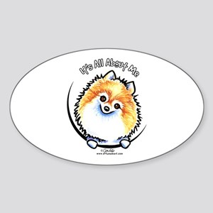 Pomeranian IAAM Sticker (Oval)