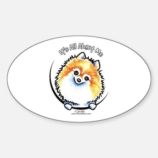 Pomeranian IAAM Sticker (Oval)