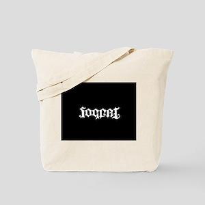 Futobol, Soccer Ambigram Tote Bag