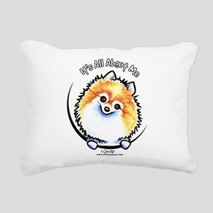 Pomeranian IAAM Rectangular Canvas Pillow
