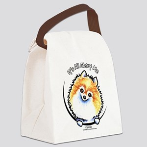 Pomeranian IAAM Canvas Lunch Bag