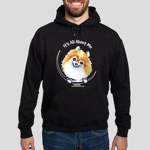 Pomeranian IAAM Hoodie (dark)