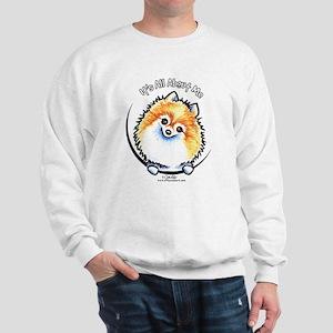Pomeranian IAAM Sweatshirt