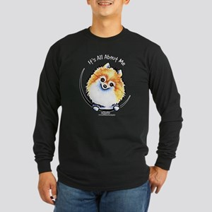 Pomeranian IAAM Long Sleeve Dark T-Shirt